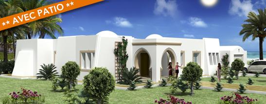 Plan maison tunisie plan de maison plein pied en v plan for Maison traditionnelle tunisienne