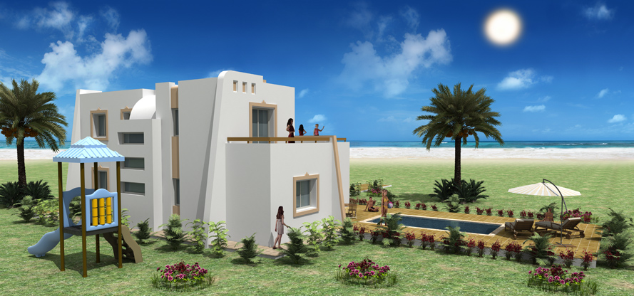 Plan de maison en tunisie awesome enchanteur plan maison for Plan maison tunisie