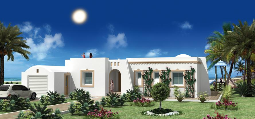 Modele De Maison A Construire En Tunisie