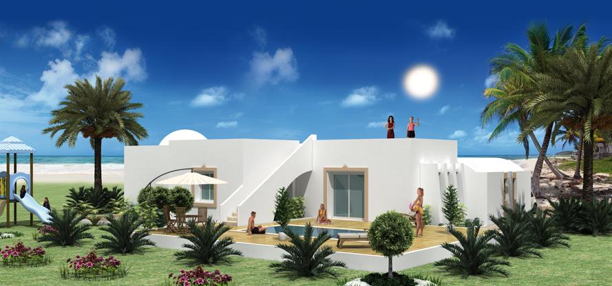 Plan de maison en tunisie cliquez pour agrandir plan for Salle de bain 3d en tunisie