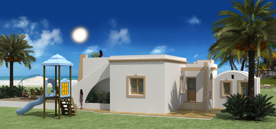 Architecture maison tunisie gratuit for Plan architecte villa moderne